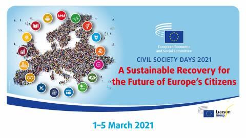 Civil Society Days 2021 - A Sustainable Recovery for the Future of Europe's CitizensUutta Kansalaisten, tasa-arvon, peru...