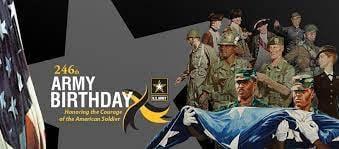 Happy 246th Birthday United States Army!!!
