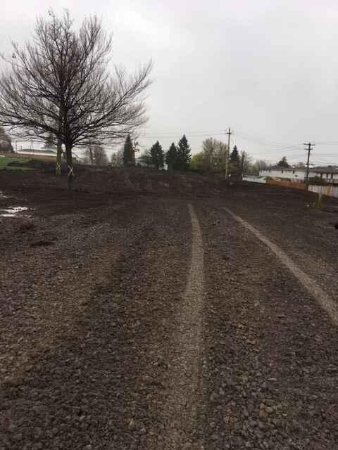 A peek at drainage being installed at Dartwood Park.